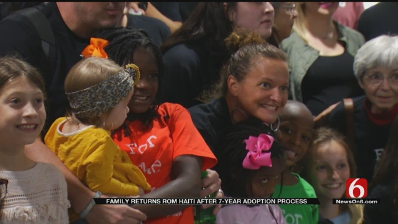 Long Awaited Homecoming For Green Country Family