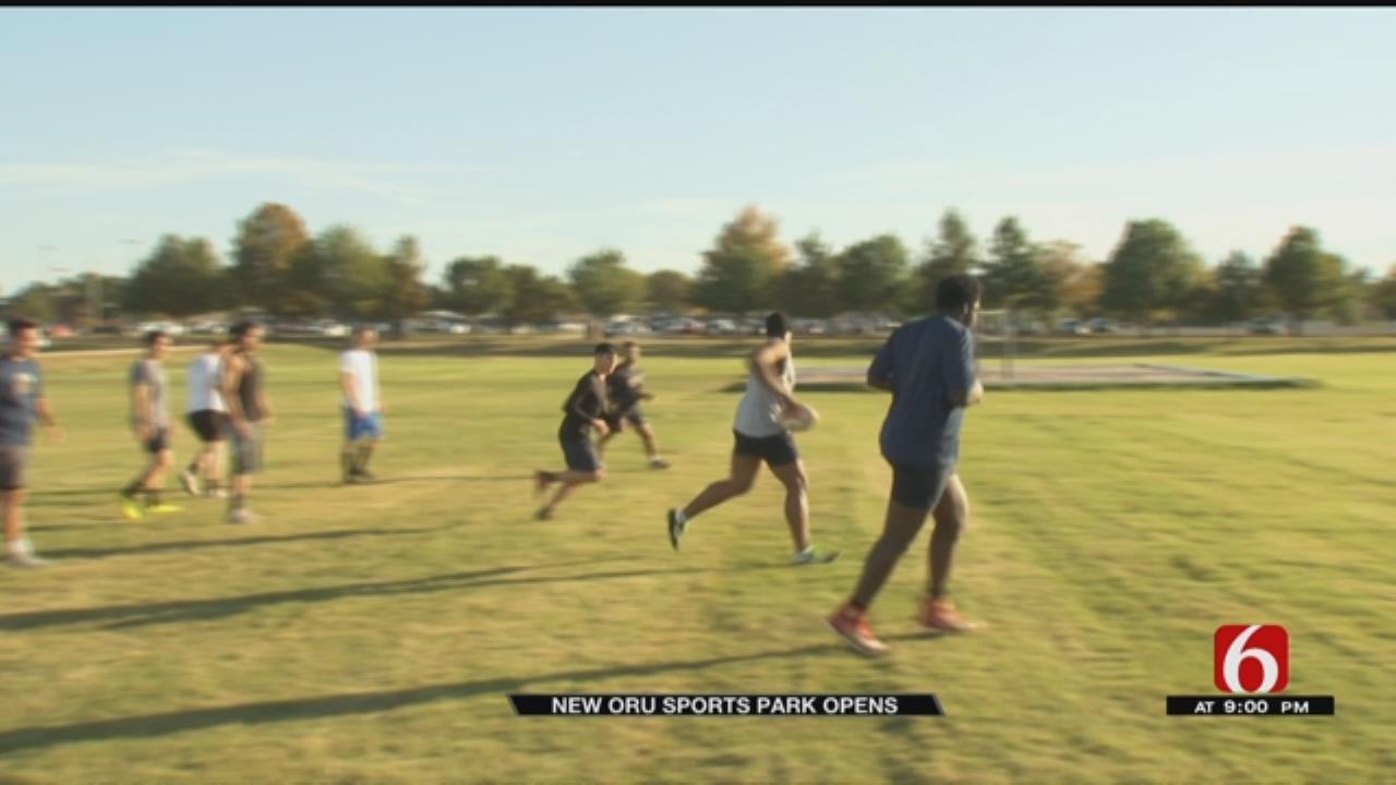 ORU Opens New Sports Park