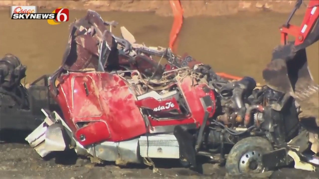 Osage SkyNews 6 Flies Over Creek County Fatality Wreck