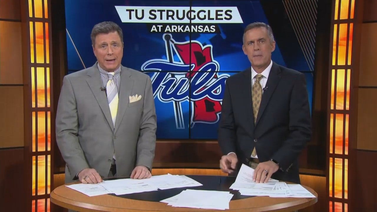 TU Loses Against Arkansas