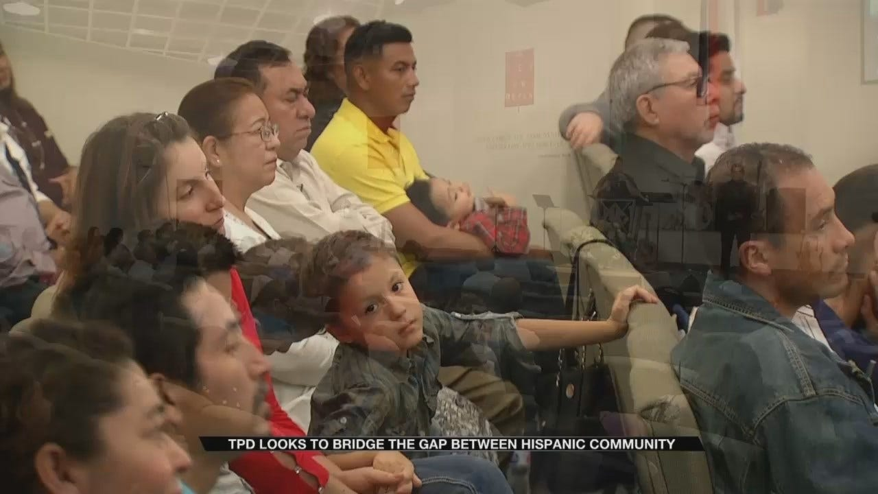 Tulsa Police Trying To Strengthen Relationship With Hispanic Community
