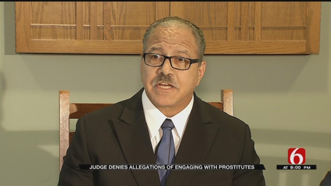 Tulsa County Judge Denies Visiting Prostitute
