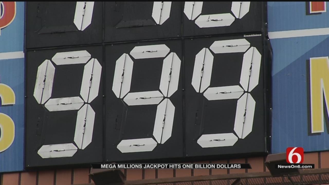 Tulsans React To Mega Millions $1 Billion Jackpot