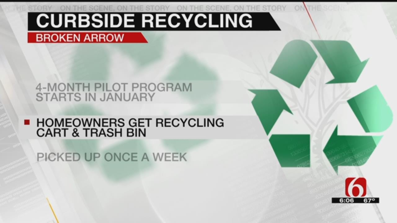 Broken Arrow To Start Curbside Recycling Pilot Program