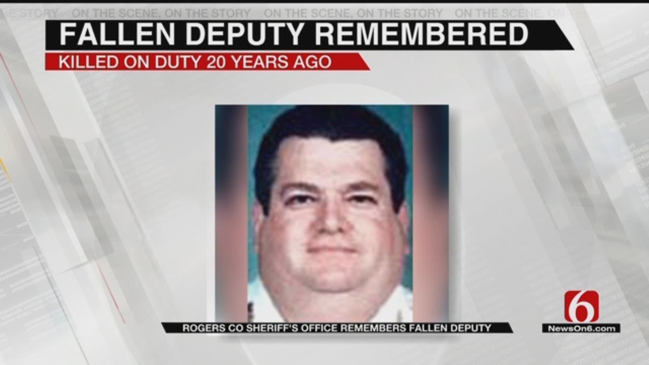 Rogers County Sheriff's Office Remembers Fallen Deputy