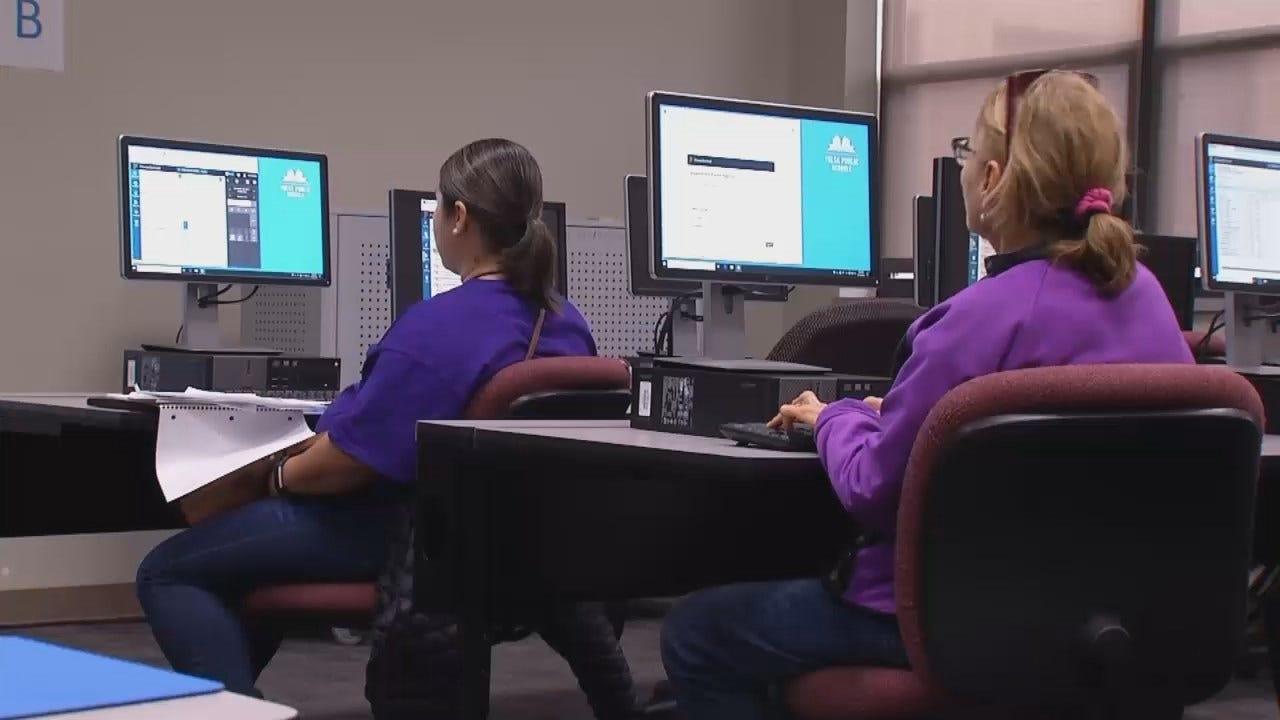WEB EXTRA: Video Of TPS Teachers Receiving Grading System Training