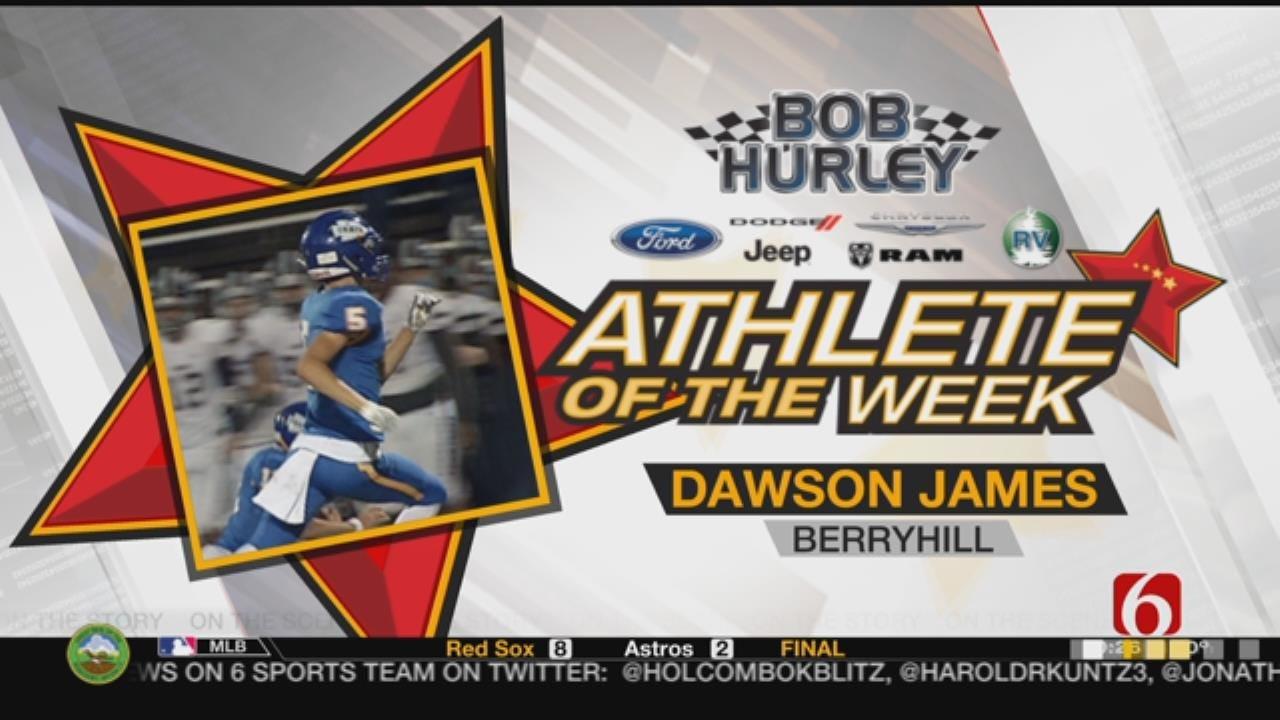 Week 7 Athlete Of The Week: Berryhill's Dawson James
