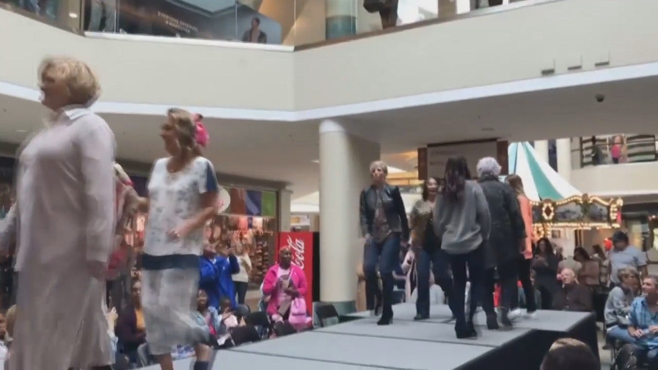 WEB EXTRA: Video From Cancer Survivor Fashion Show At Tulsa's Woodland Hills Mall