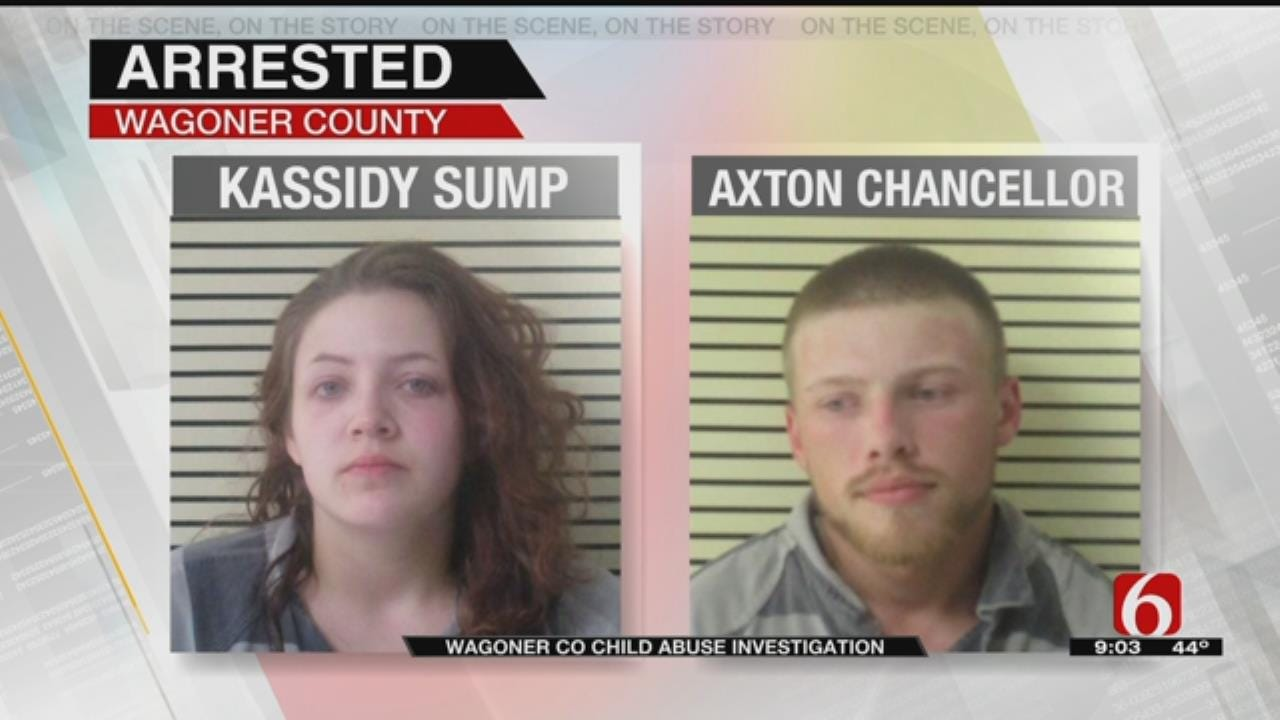 Wagoner County Couple In Jail Accused Of Abusing 5-Month-Old Child