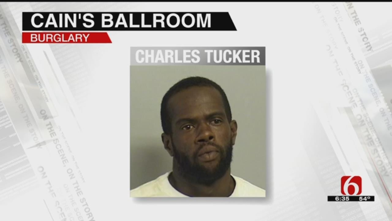 Police Arrest Man Accused Of Breaking Into Cain's Ballroom