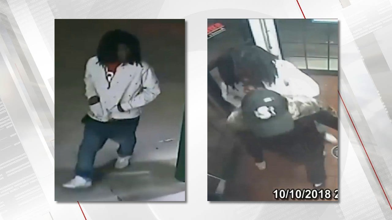 Armed Robbery At Tulsa Fast Food Restaurant Caught On Camera