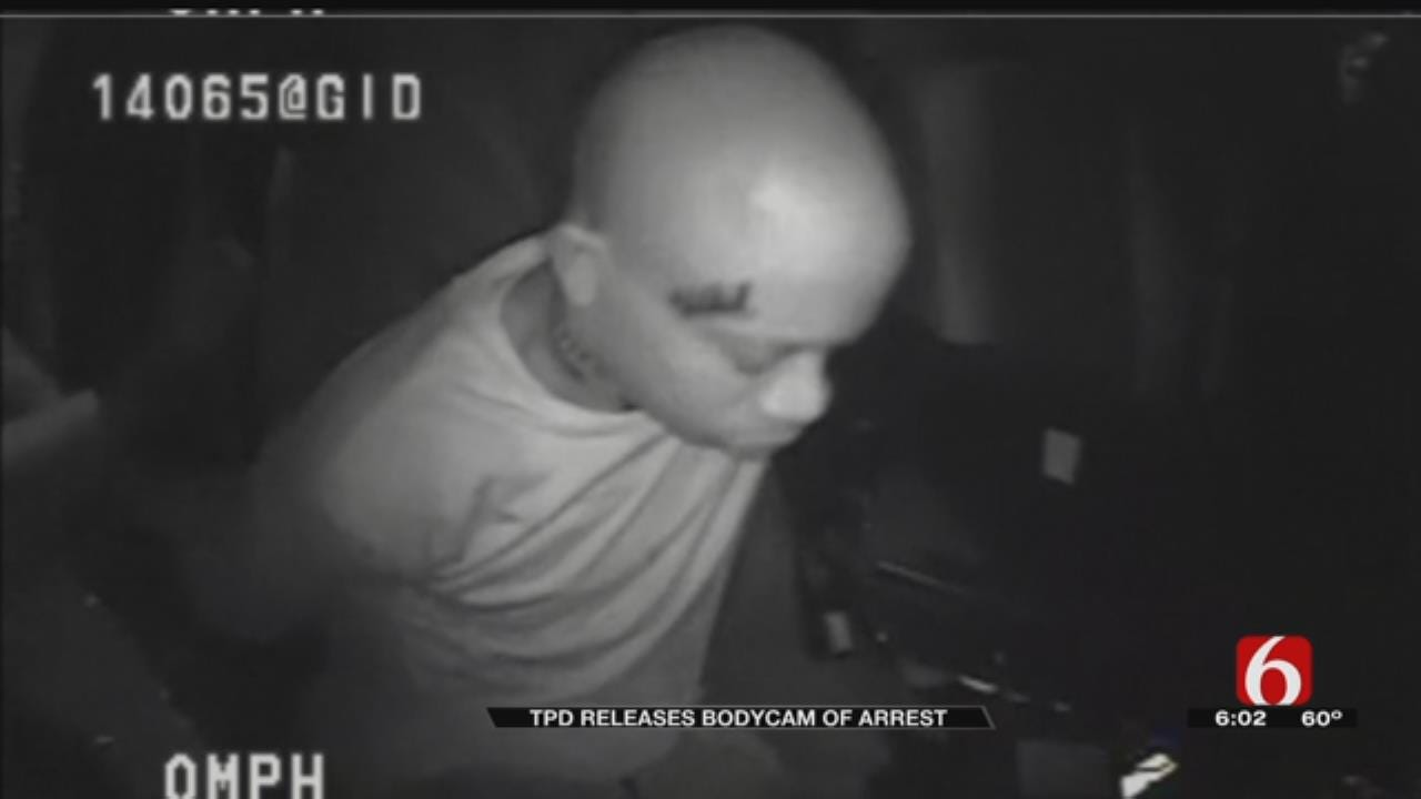 Bodycam Video From Tulsa Police Chase Released