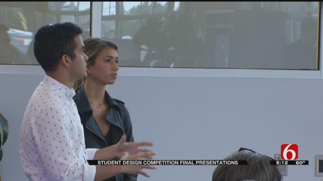 Students Present Designs To Renovate Laura Dester Center