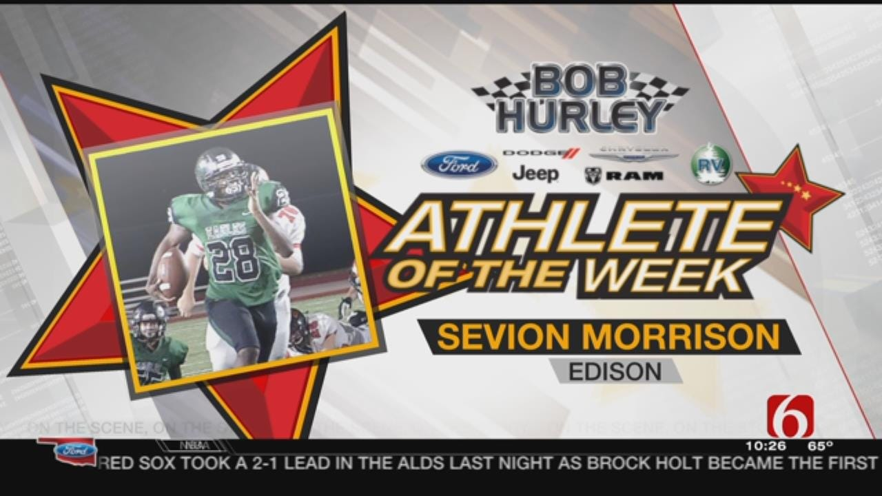 Week 6 Athlete Of The Week: Edison's Sevion Morrison