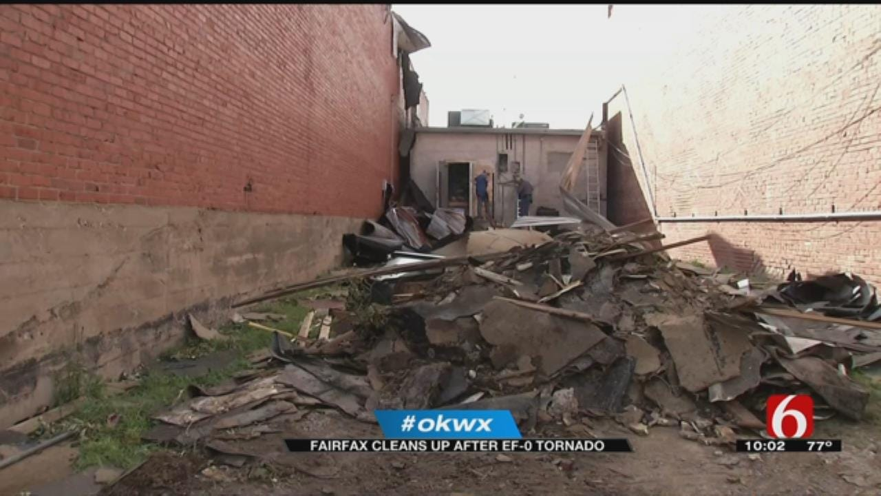 Neighbors Come Together To Clean Up After Fairfax Tornado