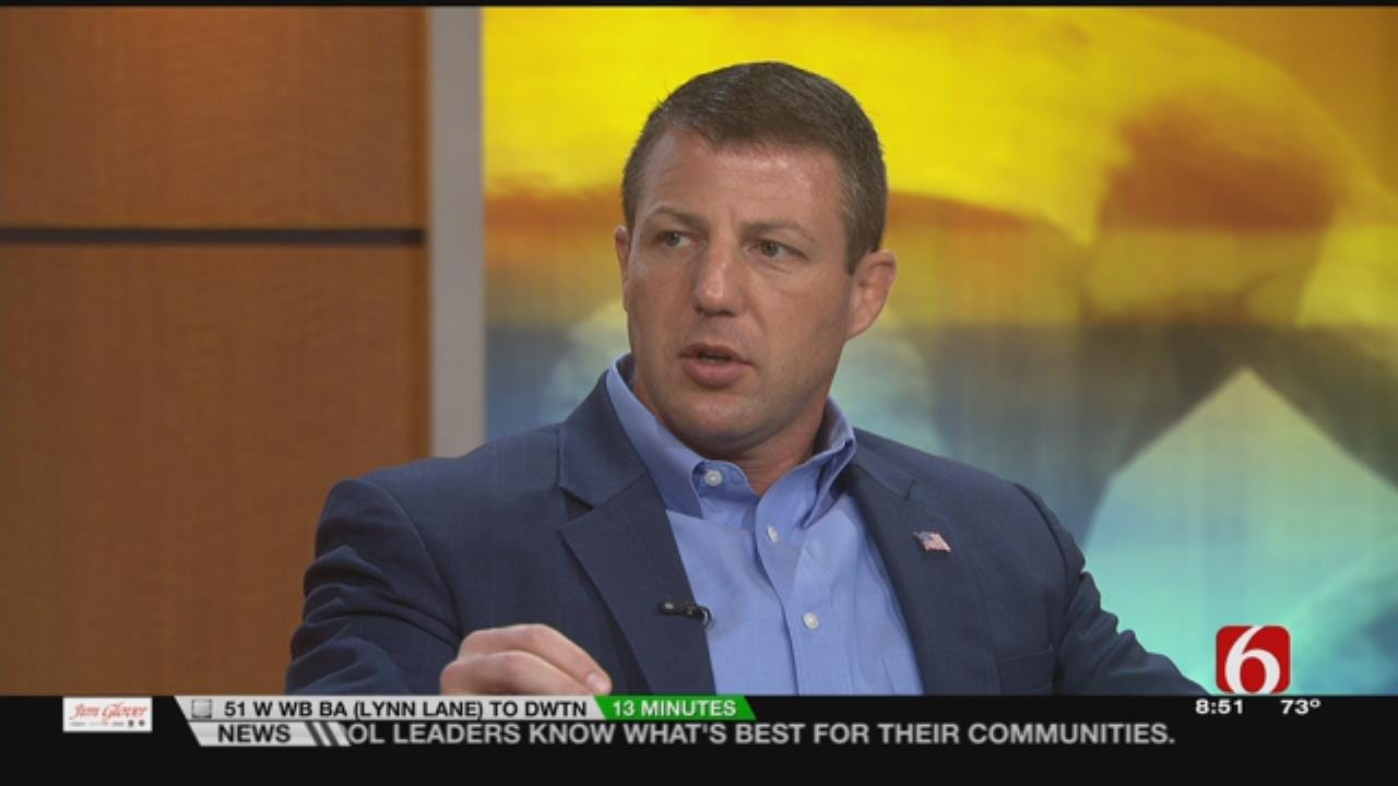 Oklahoma 2nd District Congressman Markwayne Mullin Visits With 6 In The Morning