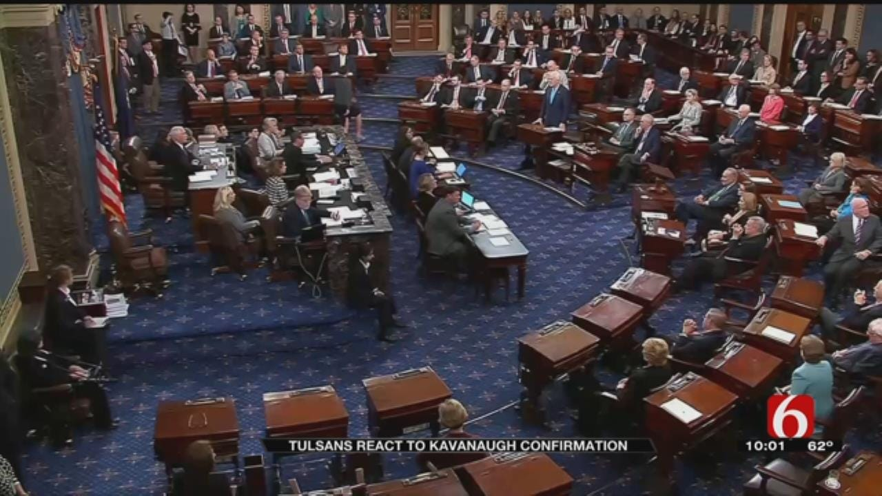 State And Local Reactions To Kavanaugh Supreme Court Confirmation