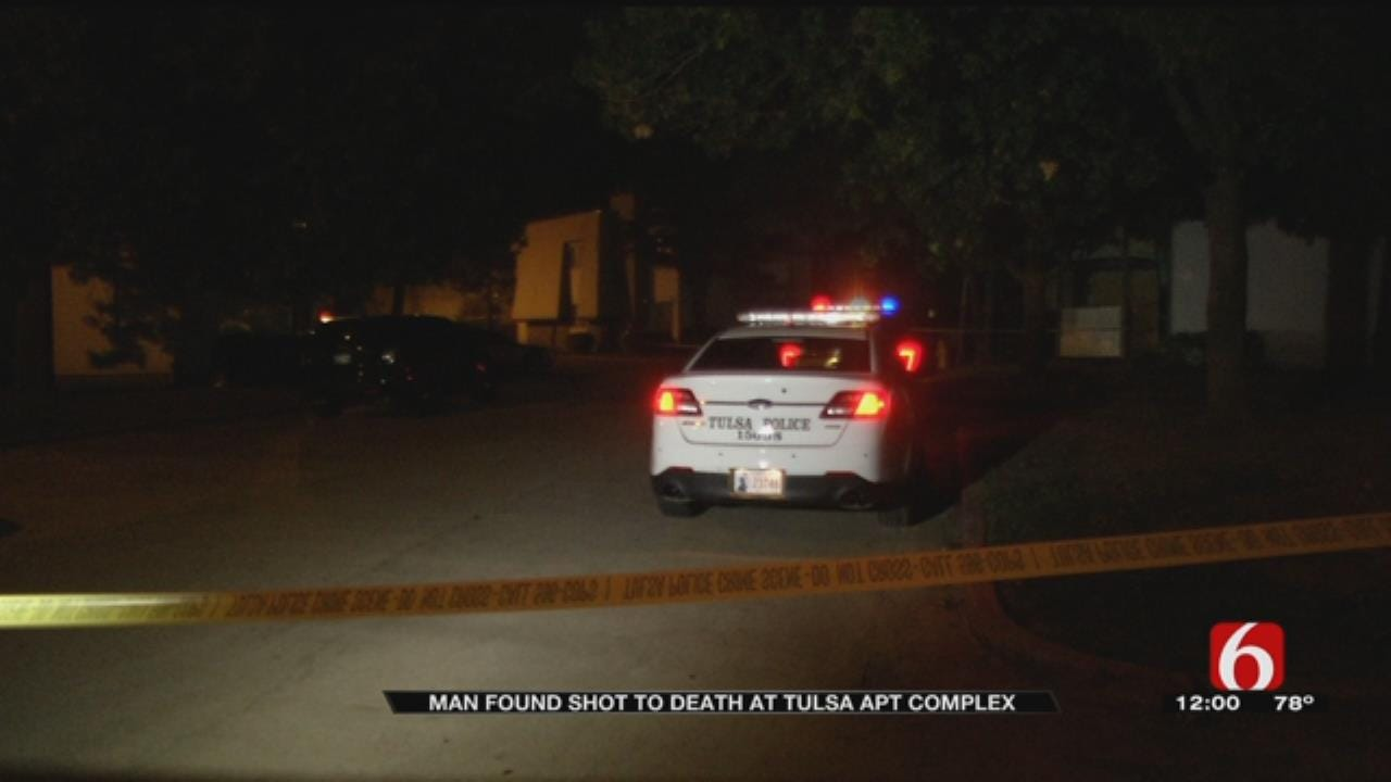 Gunshot Victim Found Dead Near Tulsa Apartment Complex