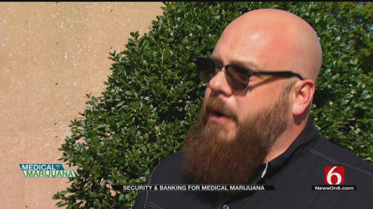 Oklahoma Man To Open Bank For Medical Marijuana Businesses
