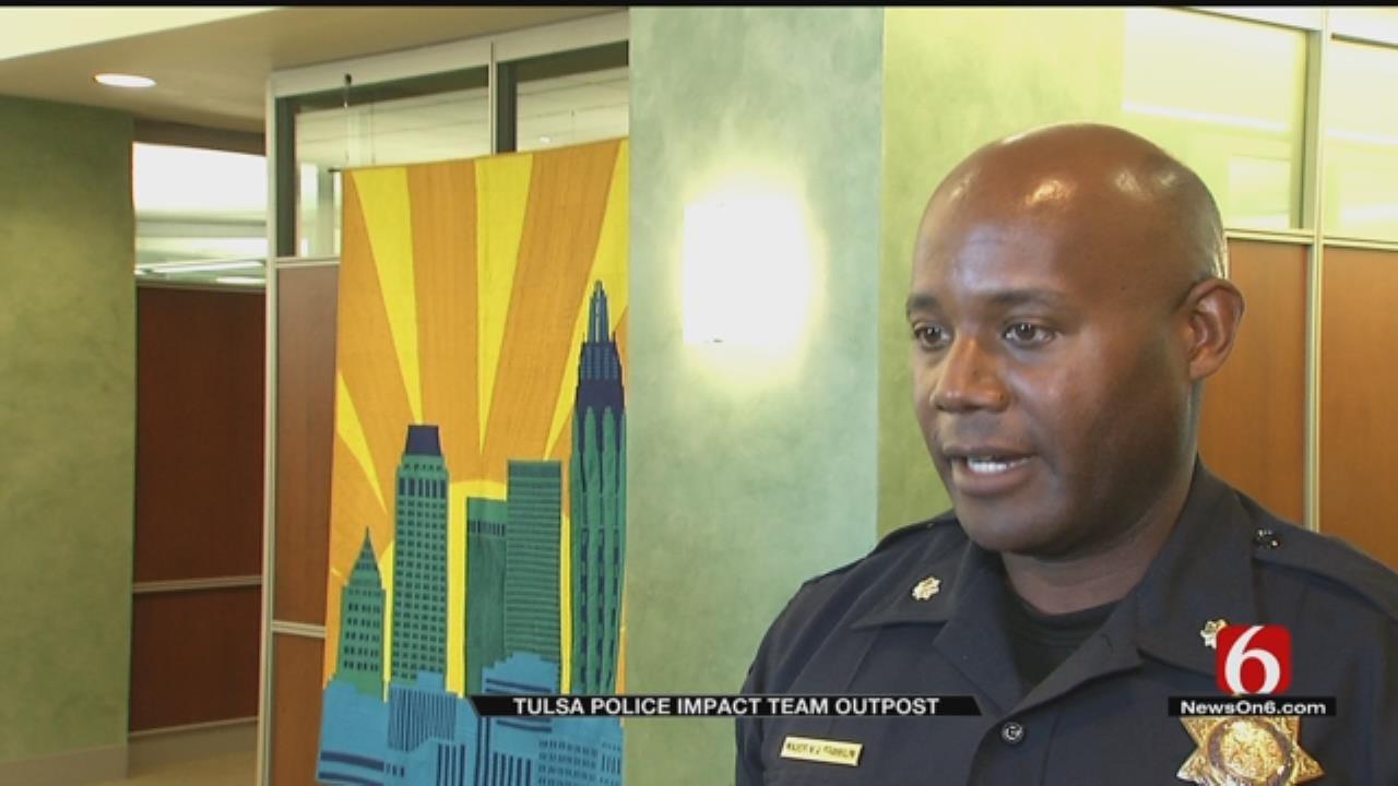 Tulsa Police Establish New Downtown Outpost