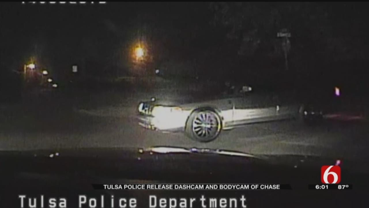 TPD Dashcam, Bodycam Shows Chase And Crash