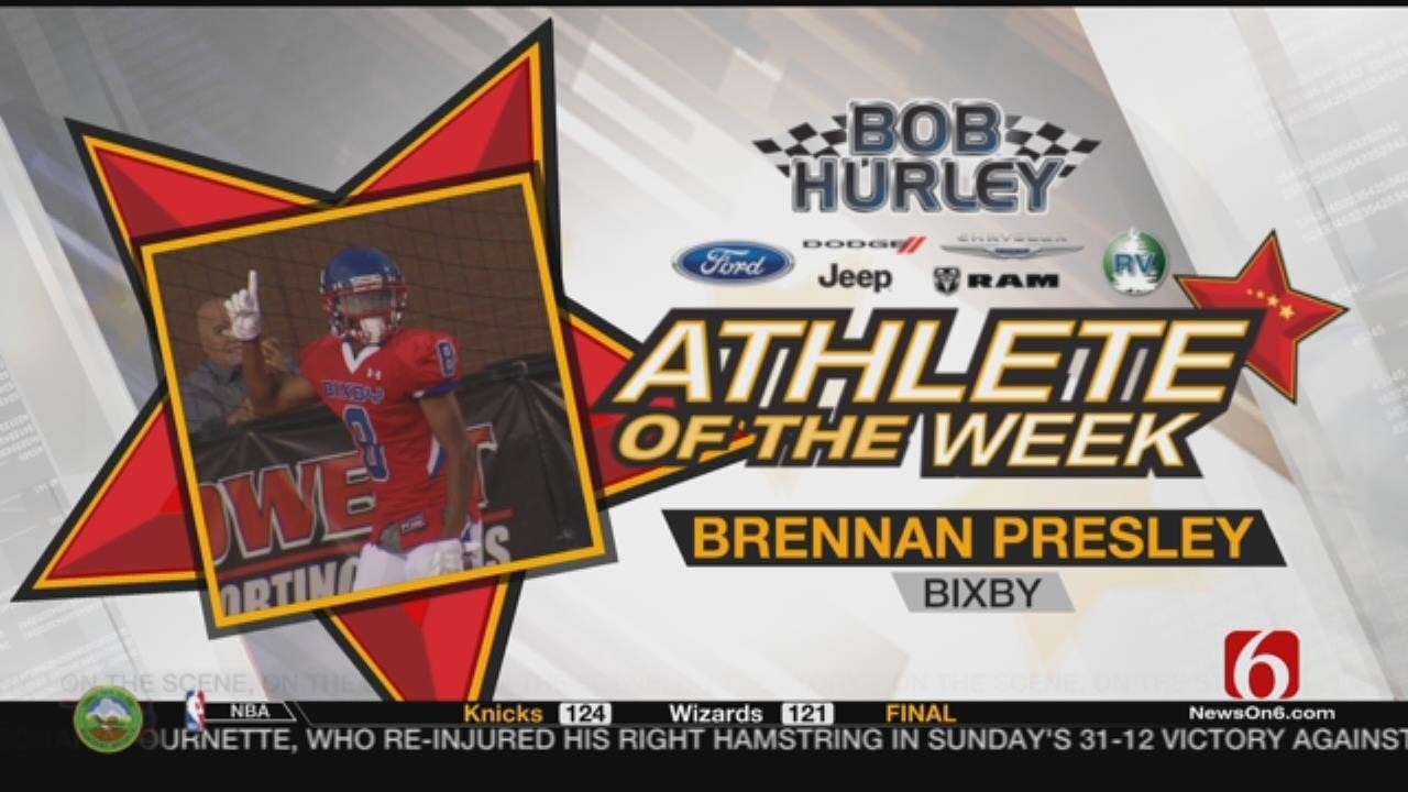 Week 5 Athlete Of The Week: Bixby's Brennan Presley
