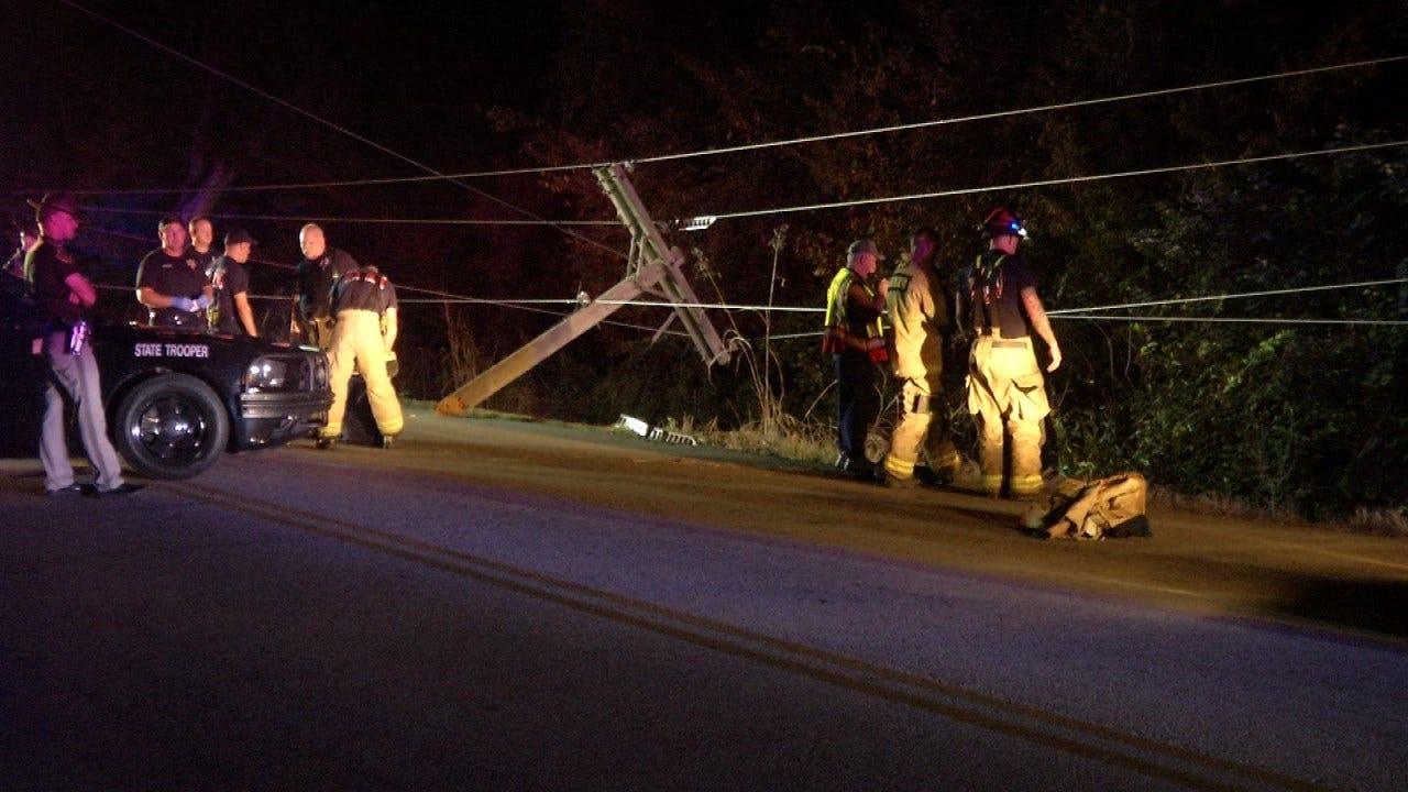 Tulsa Man Critically Hurt In Avery Drive Crash