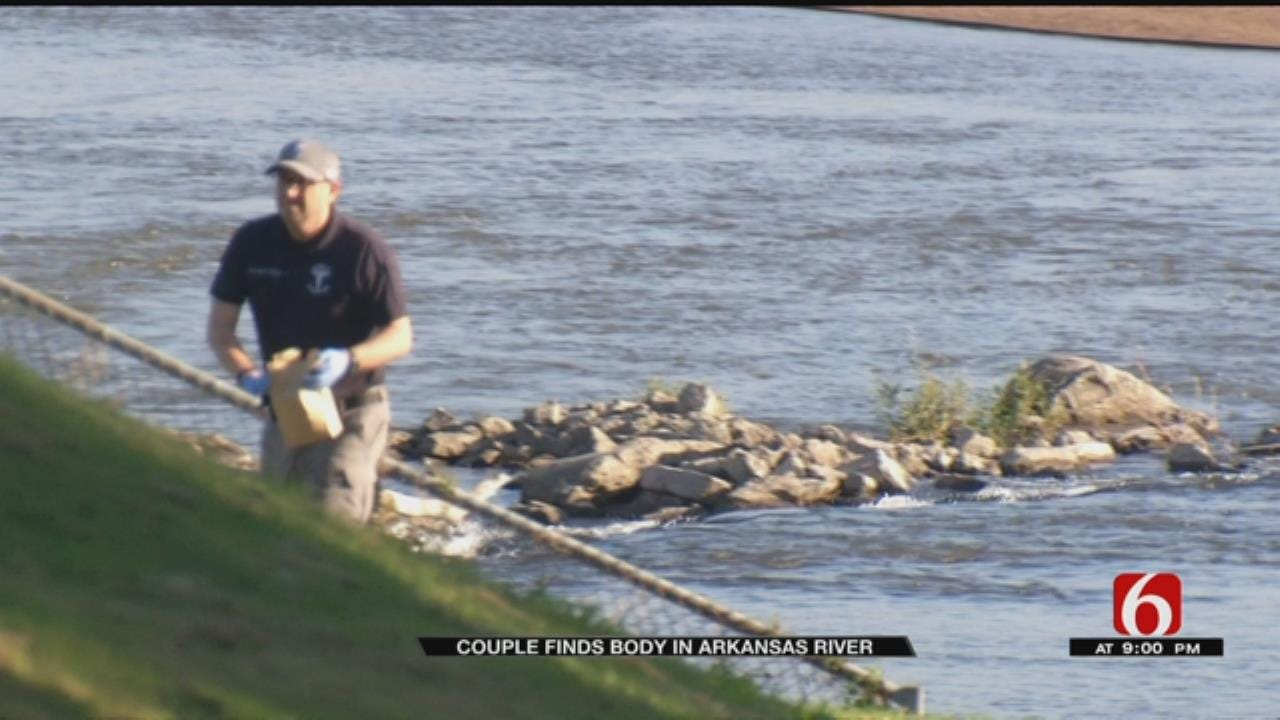 Body Discovered In Arkansas River, TPD Investigating