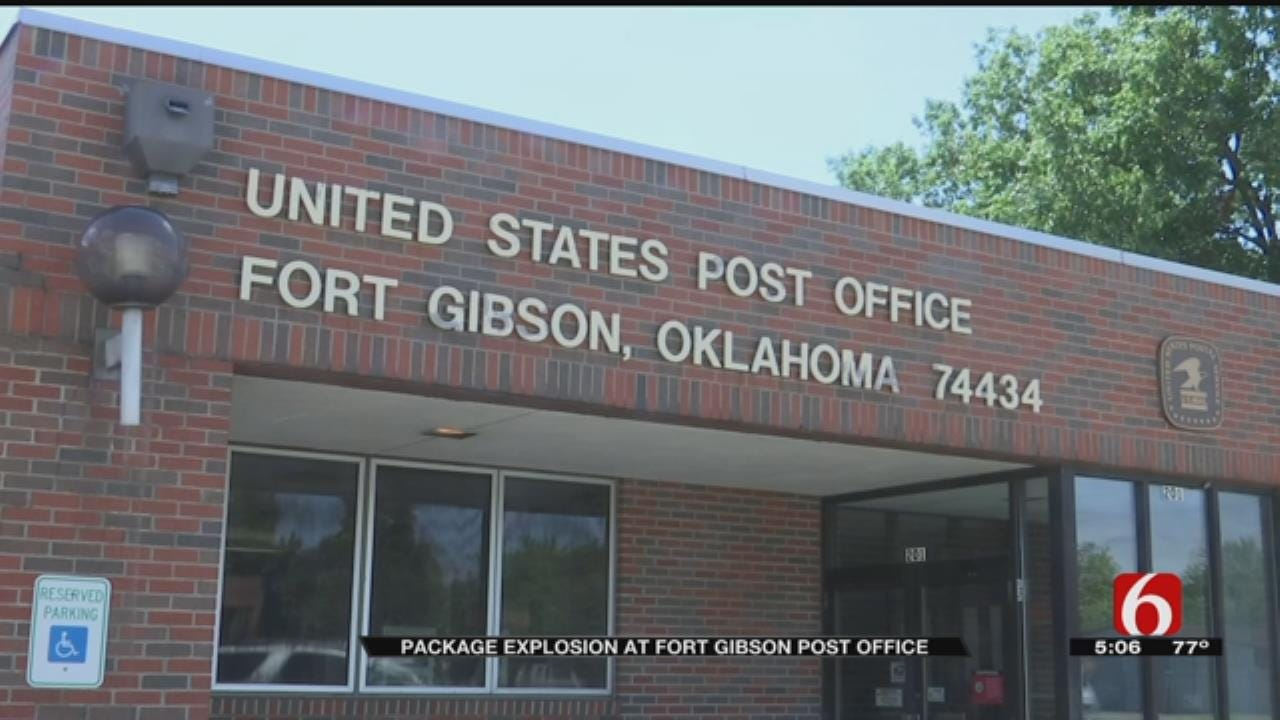 Explosion At Fort Gibson Post Office Under Investigation
