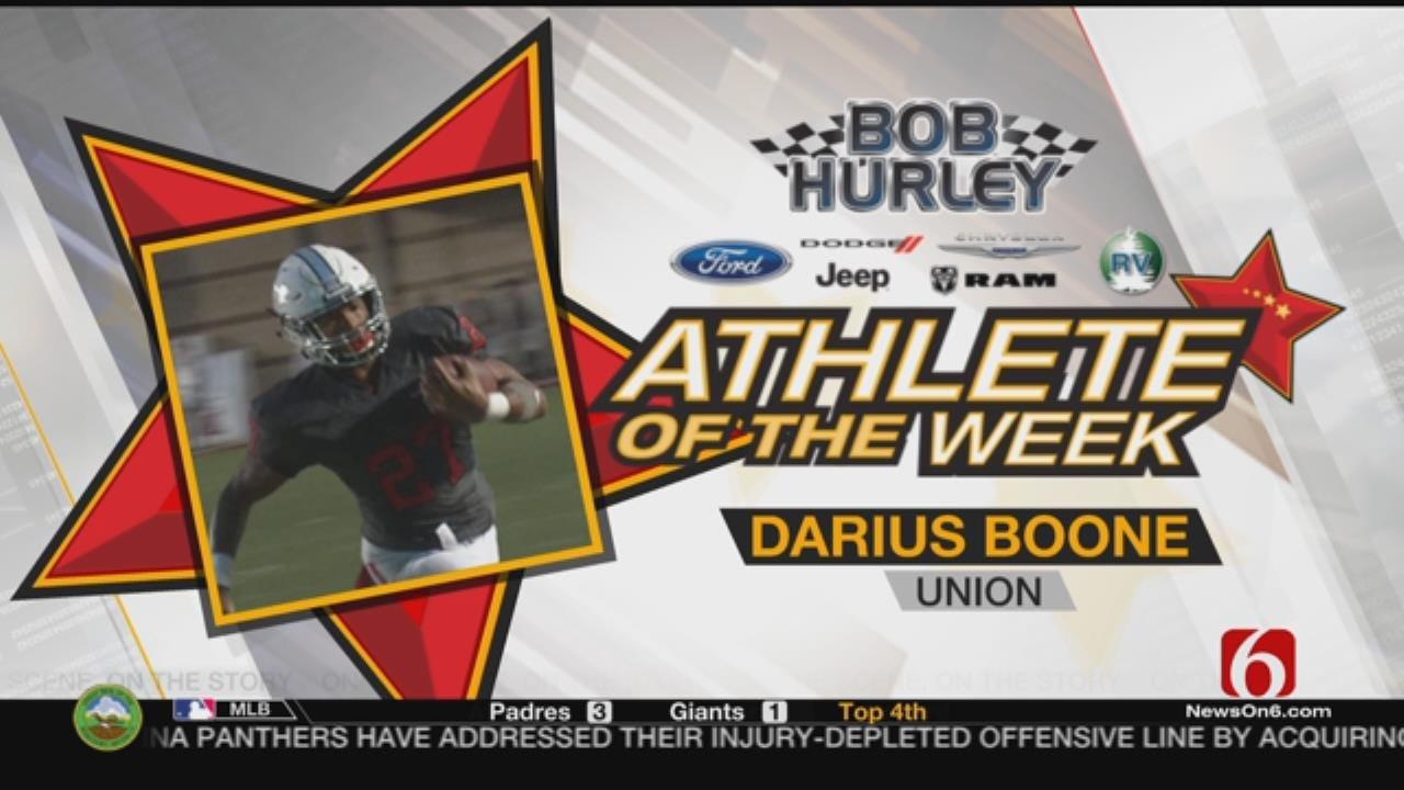 Week 4 Athlete Of The Week: Union's Darius Boone