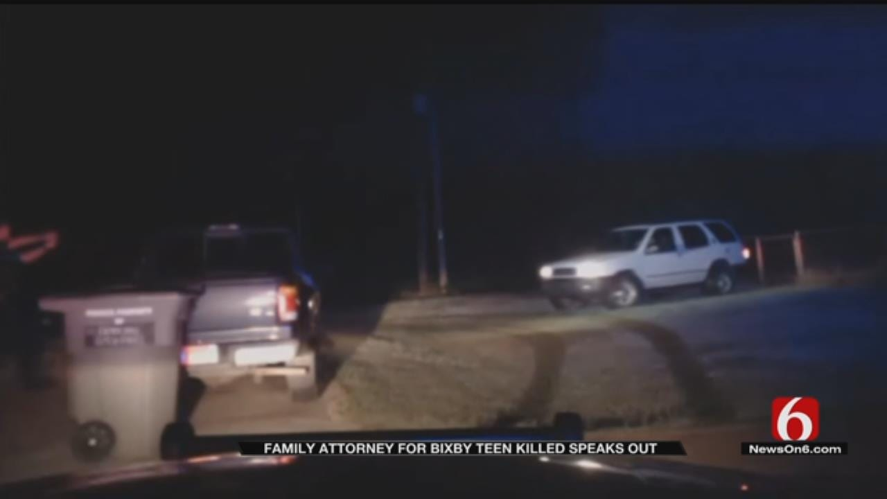 Attorneys On Both Sides Of Bixby Officer Involved Shooting Address Dashcam Video
