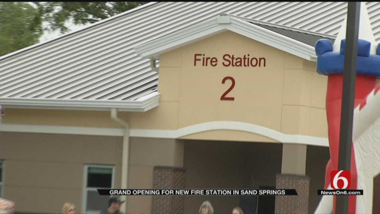 New Sand Springs Fire Station Marks Major Upgrade To Public Safety