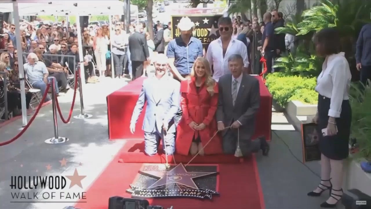 WEB EXTRA: Carrie Underwood Gets Her Star On Hollywood Walk Of Fame