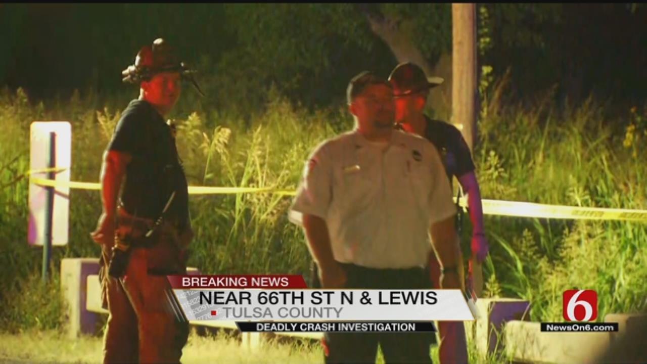 Tulsa Fire And OHP Investigating Fatal Crash