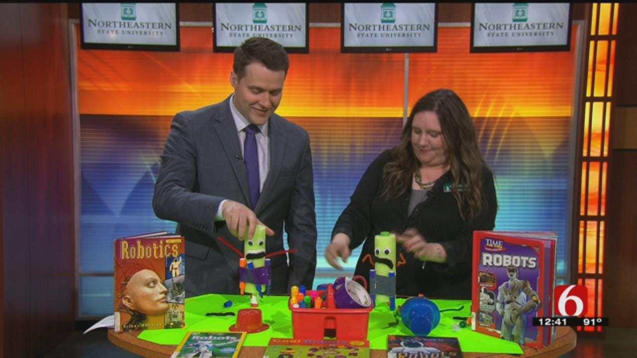 Making Robots A Fun Way To Promote Reading
