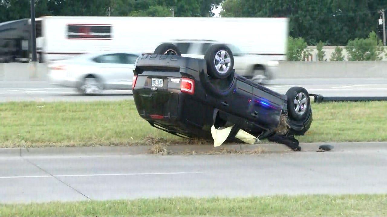 Dave Davis: Rollover Tulsa Crash Injures 3