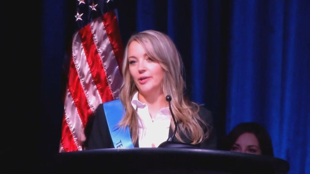 WEB EXTRA: Video From Oklahoma Teacher Of The Year Ceremony In OKC