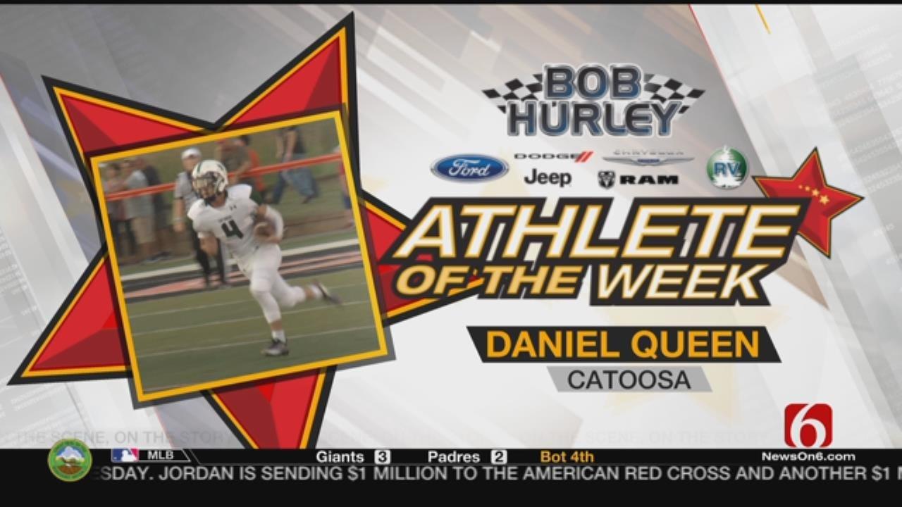 Week 3 Athlete Of The Week: Catoosa's Daniel Queen