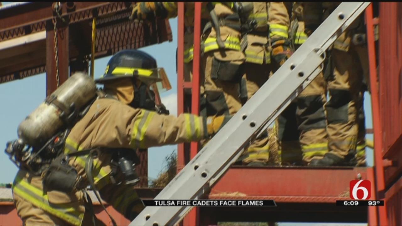 TFD Academy Cadets Undergo Live Fire Training
