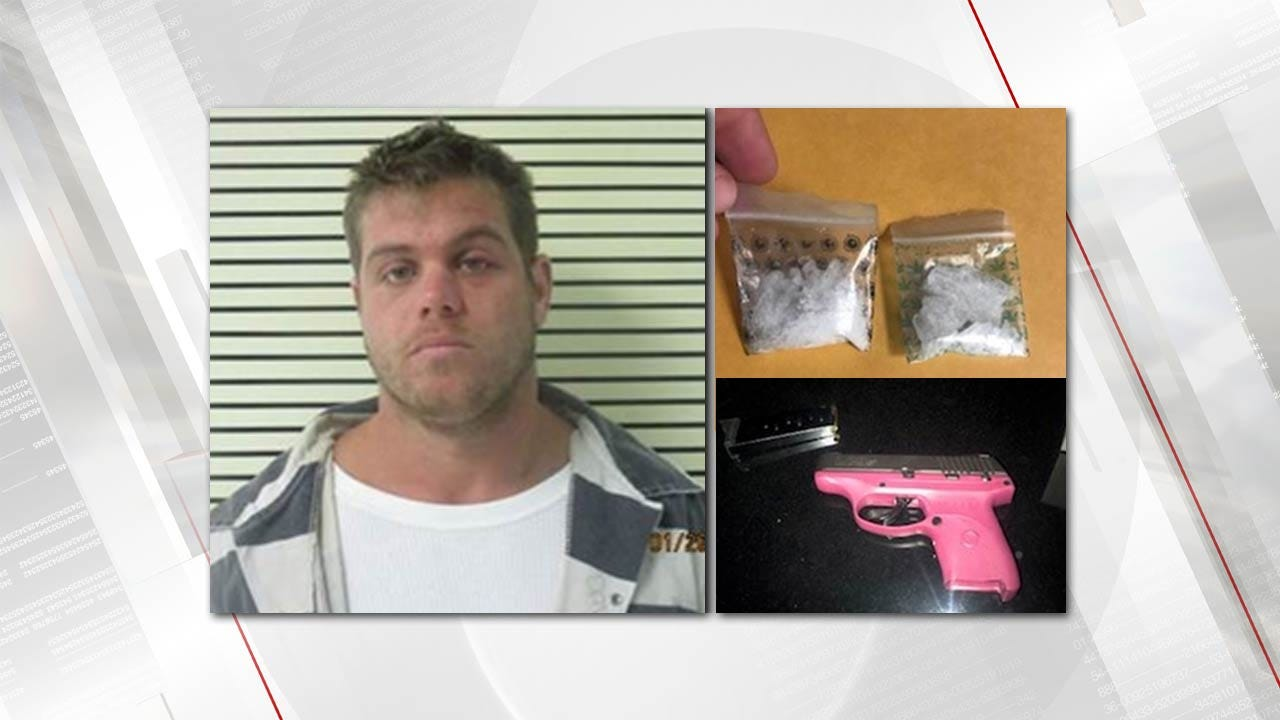 Traffic Stop Leads To Meth Bust In Wagoner County