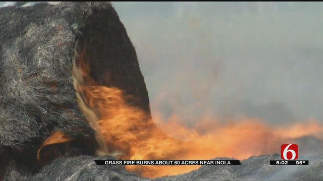 Overheated Farming Equipment Blamed For Rogers County Grass Fire