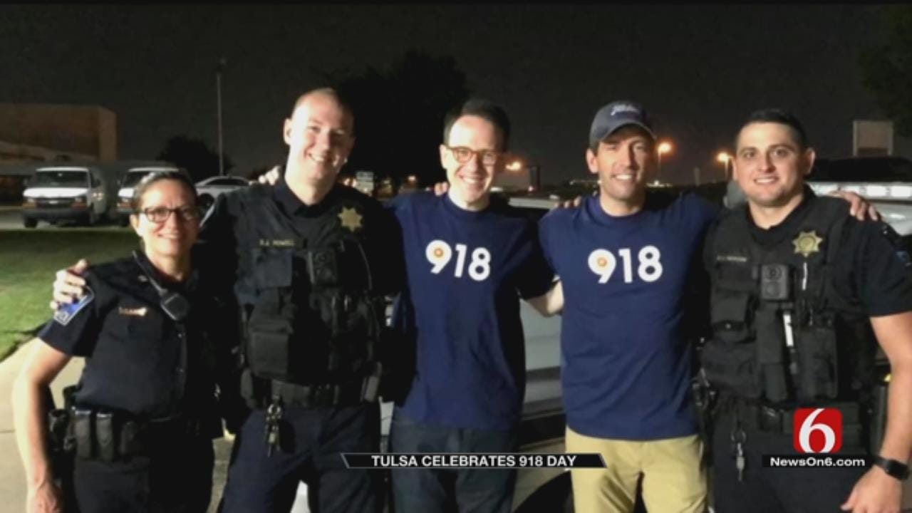 Mayor GT Bynum's 24-Hour Tour During Tulsa's First '918 Day'
