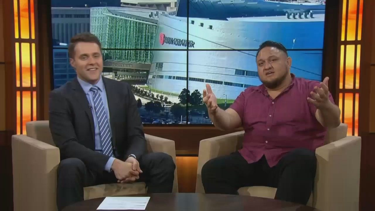 WWE Superstar Samoa Joe Visits News On 6