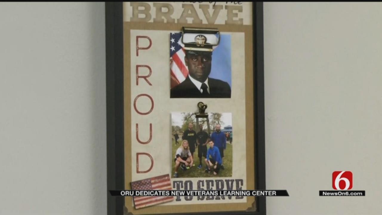 ORU Opens New Veterans Learning Center