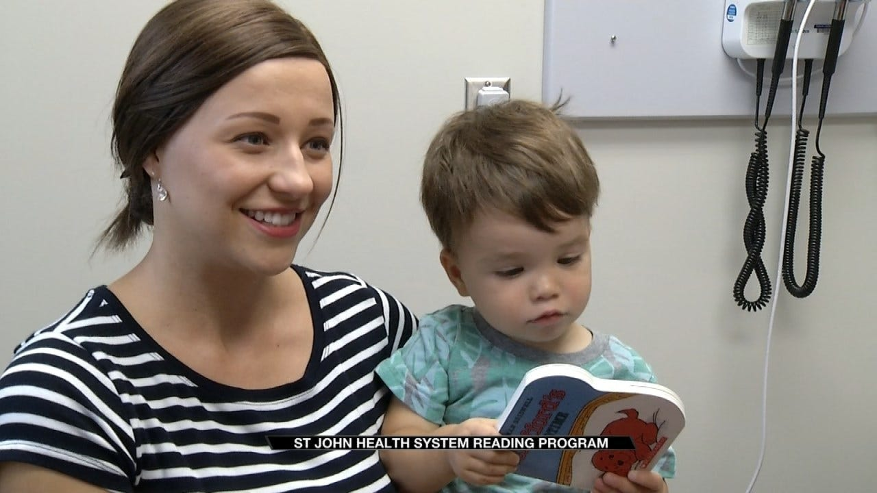 St. John Health System Partners With 'Reach Out And Read'