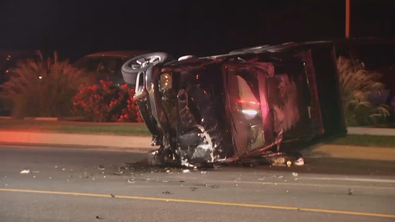 WEB EXTRA: Video From Scene Of Tulsa Head-On Crash