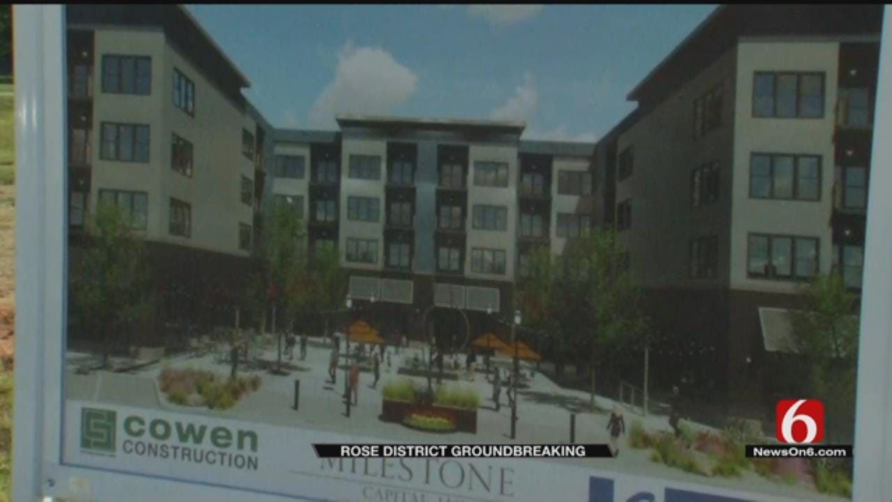 Broken Arrow Breaks Ground On Rose District Multi-Use Project