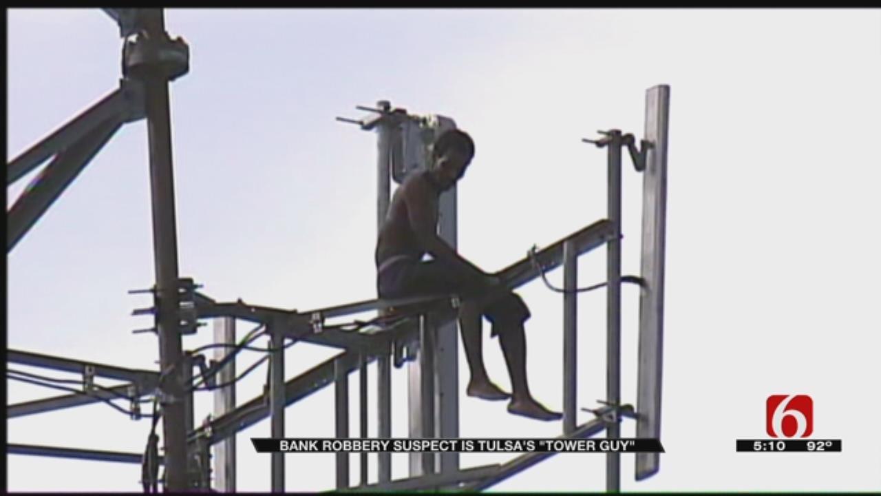 'Tower Guy' Accused Of Robbing Tulsa Bank