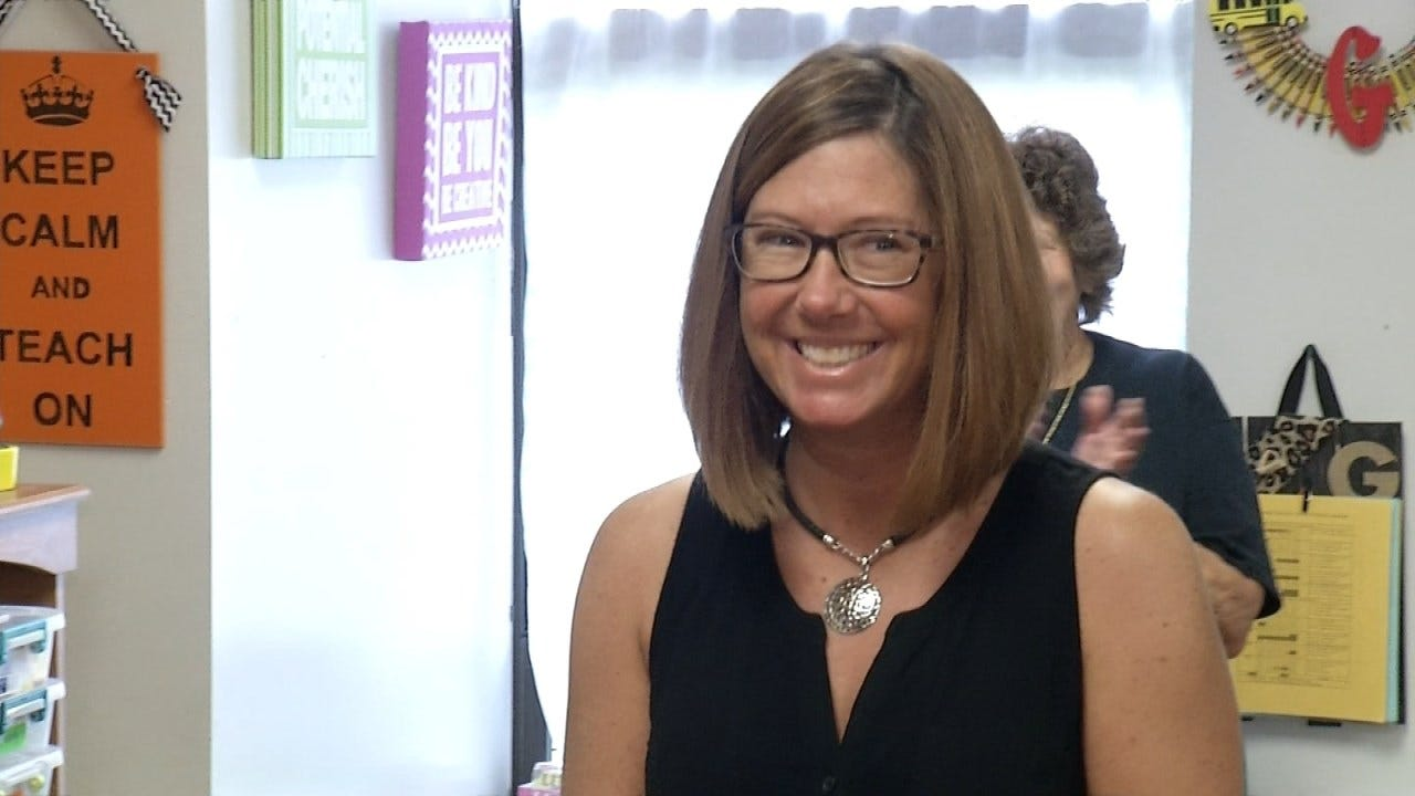 Coweta Elementary Teacher Making Positive Difference To Students