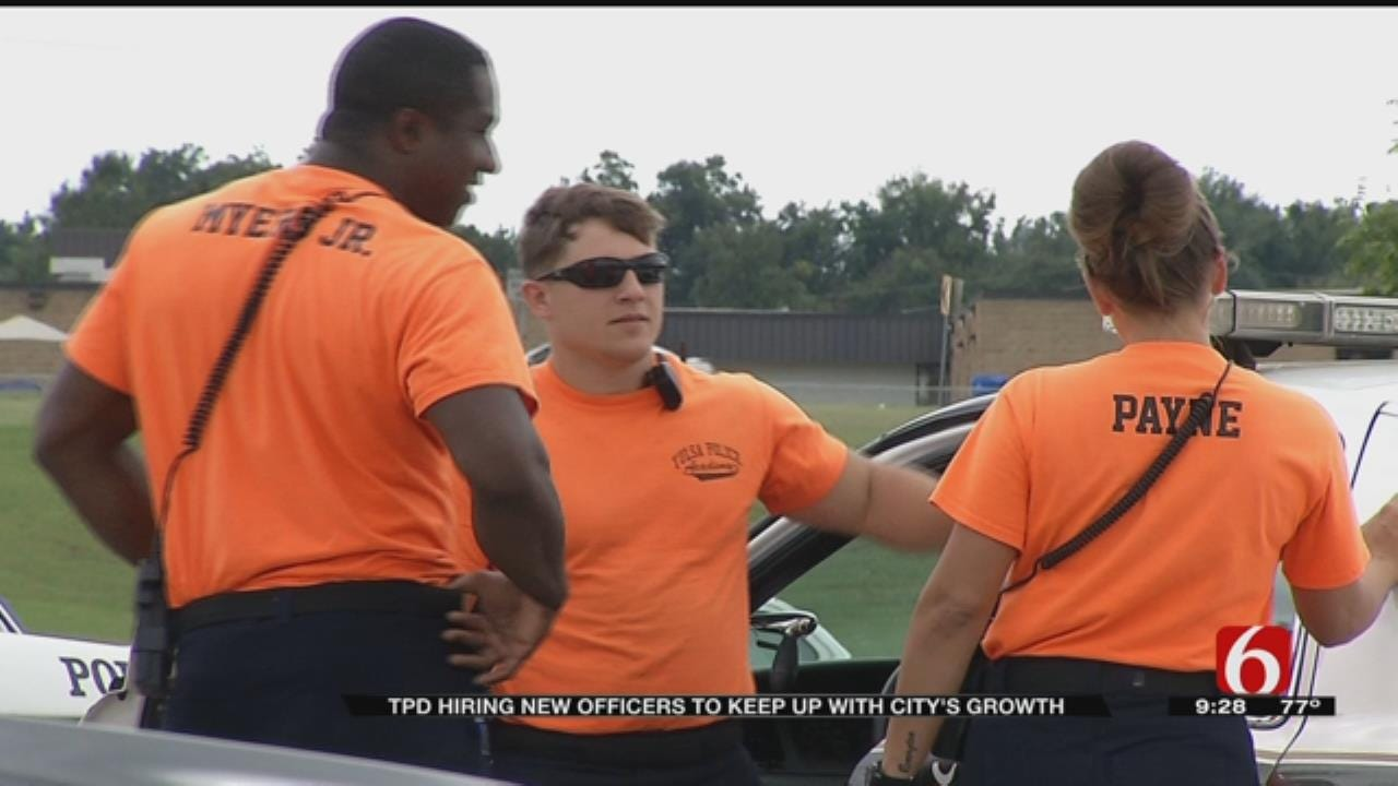 Tulsa Police Department Looking To Increase Recruitment Numbers